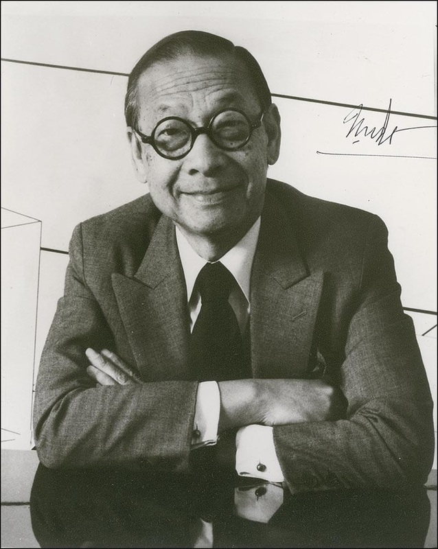 Architect I. M. Pei and the Bushnell Towers
